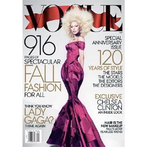 Vogue pone kilos en su próximo número, que tendrá la cifra récord de 916 páginas