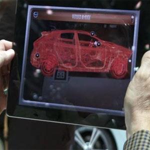 Volvo convierte el iPhone y el iPad en máquinas de rayos X para sus coches