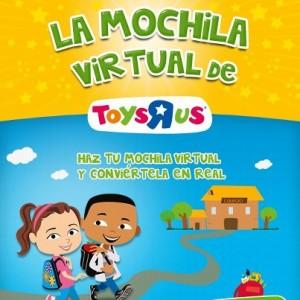 Toys r us vuelve al cole con la 39 mochila virtual - Maletas infantiles toysrus ...