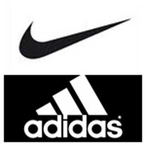 seleccione para genuino nueva apariencia vanguardia de los tiempos Nike y Adidas son las mejores marcas de ropa deportiva en acciones ...