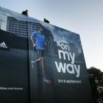Esta valla publicitaria está muy viva o cómo Adidas dejó a todos con la boca abierta en una carrera en Berlín