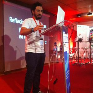 """P. Ruiz-Nicoli (Wantham) en #SoLoMo2012: """"En marketing hay que trabajar en multipantalla y hay que hacerlo de serie"""""""
