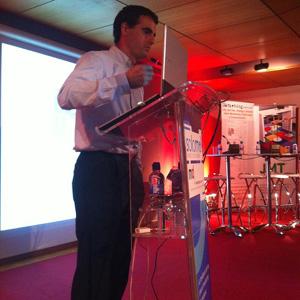 """Á. del Castillo (TAPTAP) en #SoLoMo2012: """"La audiencia ya es SoLoMo, le toca al anunciante"""""""