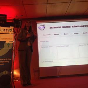 Volvo y el cliente conectado en #SoLoMo2012, con Marta Lozano