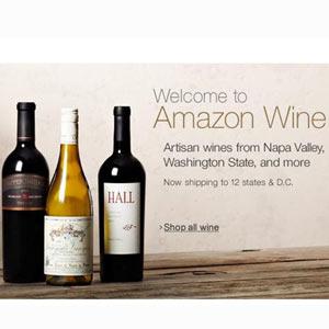 Amazon abre su propia tienda online especializada en vinos
