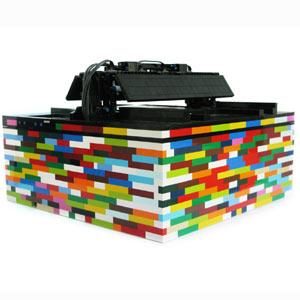 Lego y sus extensiones de marca: cuando las piezas de colores se usan también para hacer música