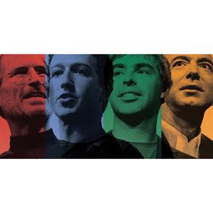 ¿Apple, Facebook, Google o Amazon? ¡Que gane el mejor!