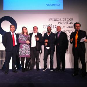 McCann arrasa en la VI edición de los Premios Genio de CMVocento consiguiendo 4 galardones