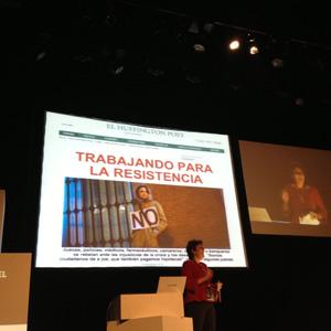 """M. Domínguez (Huff. Post) en #IABInspirational: """"Nunca te imaginas qué noticia se va a convertir en la más viral"""""""