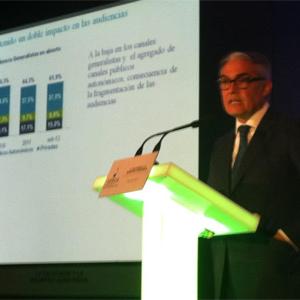 """L. Jiménez (Deloitte): """"Hay que llevar a cabo una revisión del modelo de comercialización de la publicidad en TV"""""""
