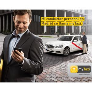 """Llega a Madrid """"myTaxi"""", la aplicación móvil más completa del mundo para pedir un taxi"""