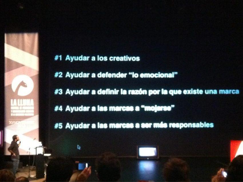 G. Romero (Bassat Ogilvy) en #LaLluna2012: