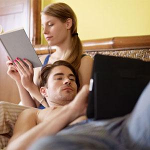 tablet pareja