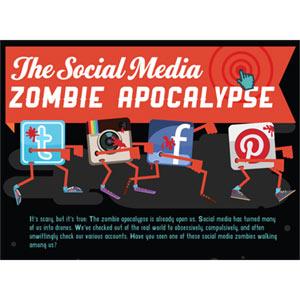 """Los 8 """"zombis"""" que deambulan por Facebook, Twitter, Instagram y Pinterest"""