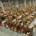 Tras los bastidores de Amazon, el verdadero almacén de Papá Noel estas navidades