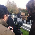 MarketingDirecto.com se cuela en el rodaje del nuevo spot de Fahrenheit DDB Perú y Mind The Gap Films en Madrid