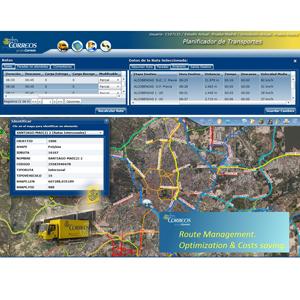 Correos emplea un Sistema de Información Geográfica de Esri basado en datos cartográficos de TomTom