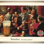 15 anuncios vintage de cuando Heineken no pensaba todavía en verde