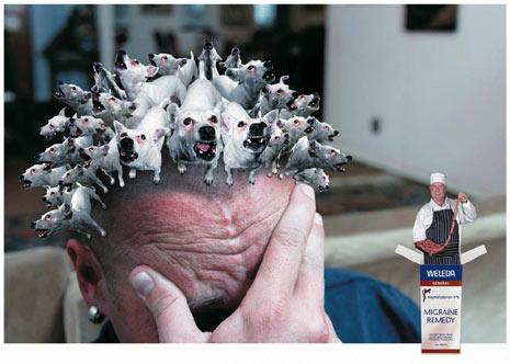 ¿Le duele la cabeza? Mitigue el dolor con esta dosis de anuncios
