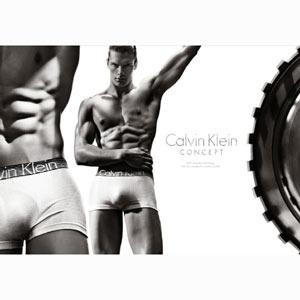 Calvin Klein se estrena en la Super Bowl con mucho músculo y acero