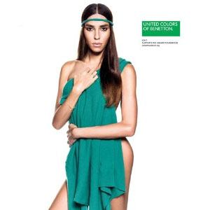 Benetton ficha a la modelo transexual brasileña Lea T para su campaña de primavera-verano