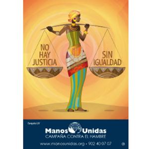 """Inventia gana el Concurso de Carteles de Manos Unidas y desarrolla su campaña """"no hay justicia sin igualdad"""""""