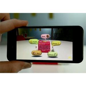 McDonald's lanza una app de realidad aumentada que permite a sus clientes ver de dónde viene su comida