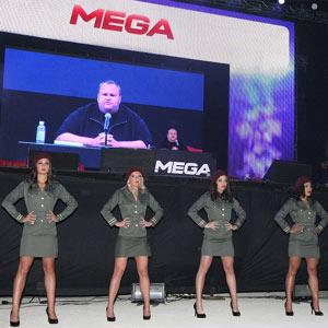 """Mega, el sucesor de Megaupload, se estrena con un """"megashow"""" a cargo de Kim Dotcom"""