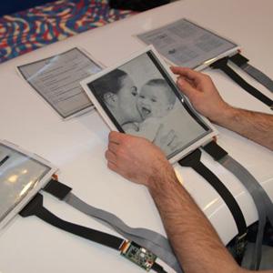 PaperTab plantea el futuro de las tabletas, finas y flexibles como el papel