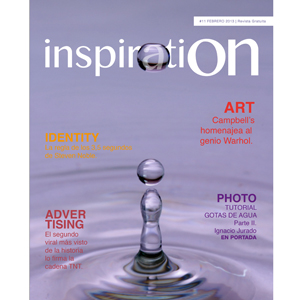 La revista 'Inspiration' arranca 2013 recogiendo el viral de TNT entre otros temas