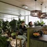 Hamacas, toboganes y futbolines decoran la oficina de Google en Zurich