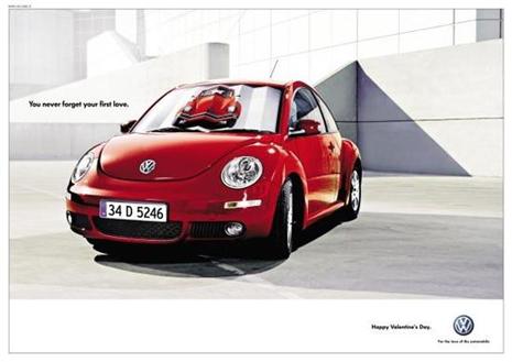 Volkswagen Valentine's Day Ad