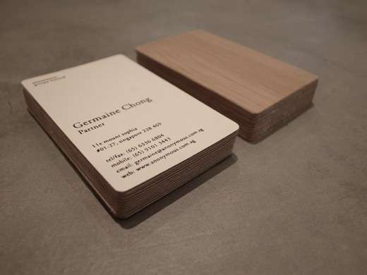 57 tarjetas de visita con dise os incre blemente cool - Disenos para tarjetas ...