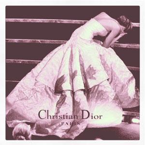 El famoso traspié de Jennifer Lawrence funciona como nueva campaña para Dior