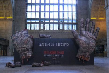 Exterior The Walking Dead No Convencional