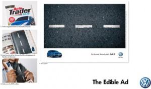 Fanta presume de ser la primera marca en lanzar un anuncio impreso que se