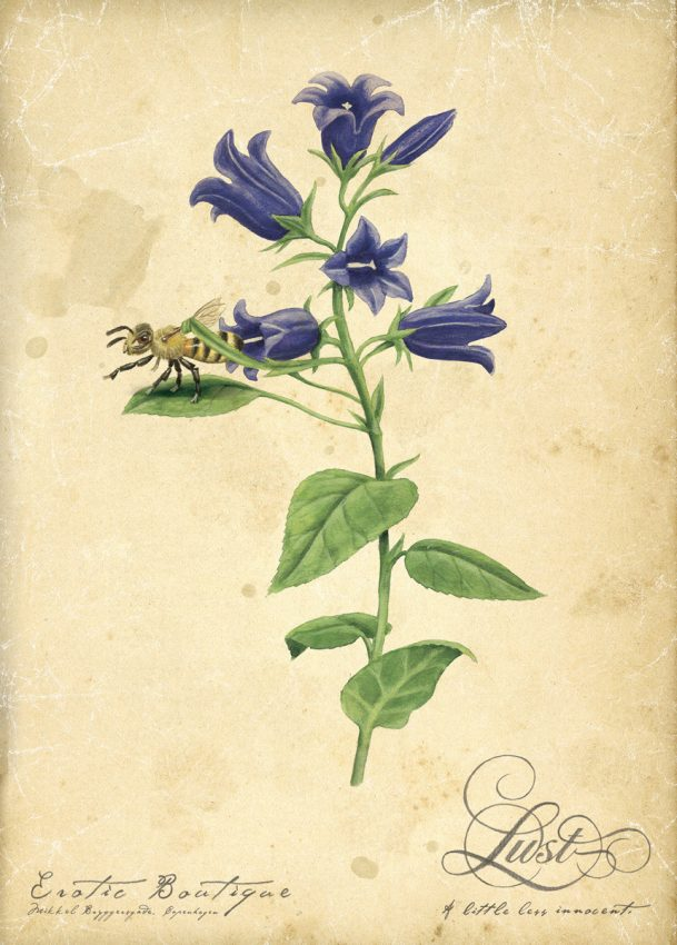 40 anuncios sembrados de flores, pero aptos también para alérgicos