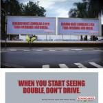 Cuando la publicidad exterior golpea dos veces… y tres