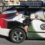 24 taxis con publicidad a bordo