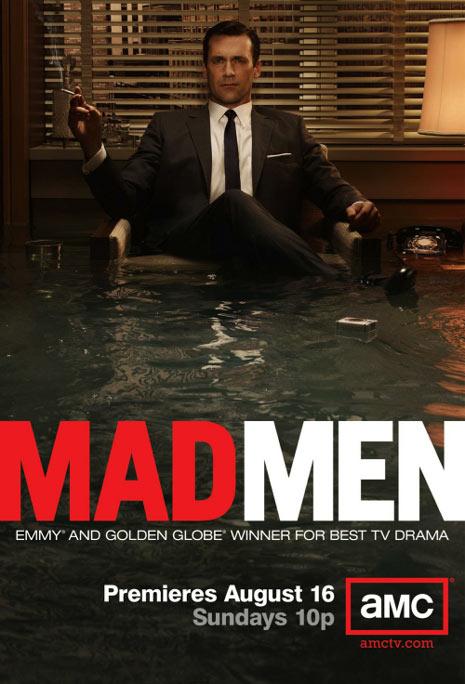 La evolución de la serie televisiva 'Mad Men' a través de sus carteles publicitarios