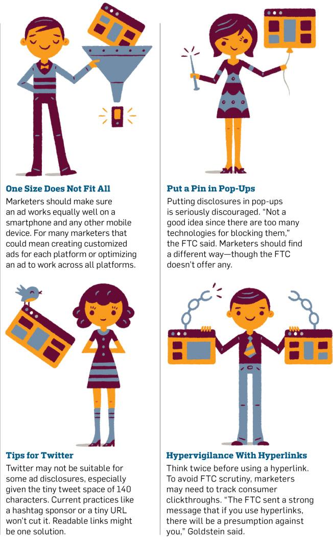 Qué hacer y qué no en publicidad online, según la Comisión Federal de Comercio