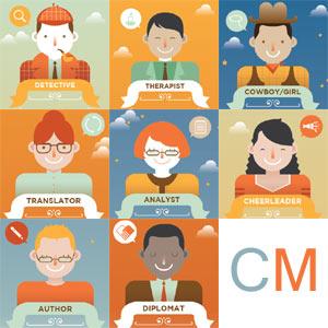 Las 8 caras de un 'community manager'