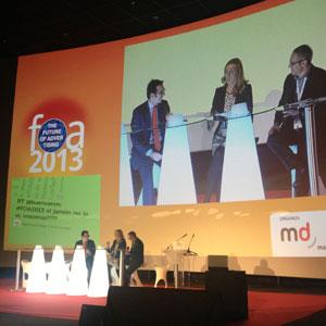 """M. Ros (Aftershare.tv) en #FOA2013: """"El spot es la máxima inversión publicitaria para garantizar un mínimo impacto"""""""