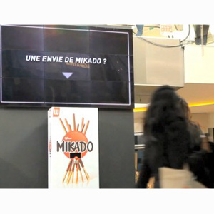 Los golosos son enviados a un universo paralelo en una acción publicitaria de Mikado