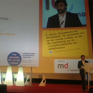 """V. Ornia (Zanox) en #FOA2013: """"Los usuarios están todos conectados, pero no todos los medios lo están"""""""