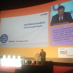 J.M. Sanabria (GroupM) en #FOA2013: