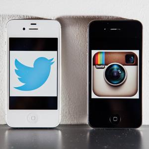 Twitter pierde y Facebook gana con Instagram