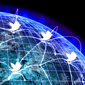 En Oriente Medio la mayoría de los usuarios es activo en Twitter