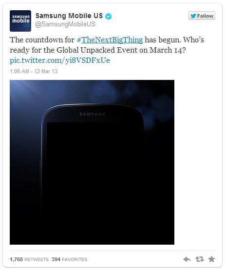 La presentación del nuevo Galaxy S IV de Samsung, entre rumores y expectación