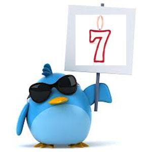 ¡Feliz 7 cumpleaños Twitter!